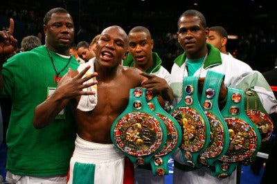 Floyd Mayweather Jr. Has Great Timing