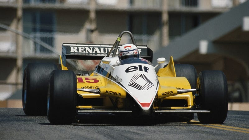 Alain Prost Heads To Goodwood In Turbo Renault