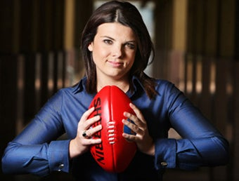 First Woman To Call Australian Football Auditions For TV Spot