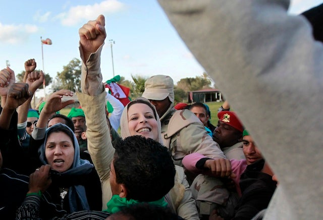 Qaddafi's Daughter & The Other Women On The Front Line In Libya