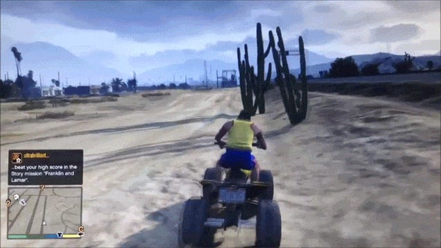 Grand Theft Auto V GIFs Are Here To Destroy The Internet