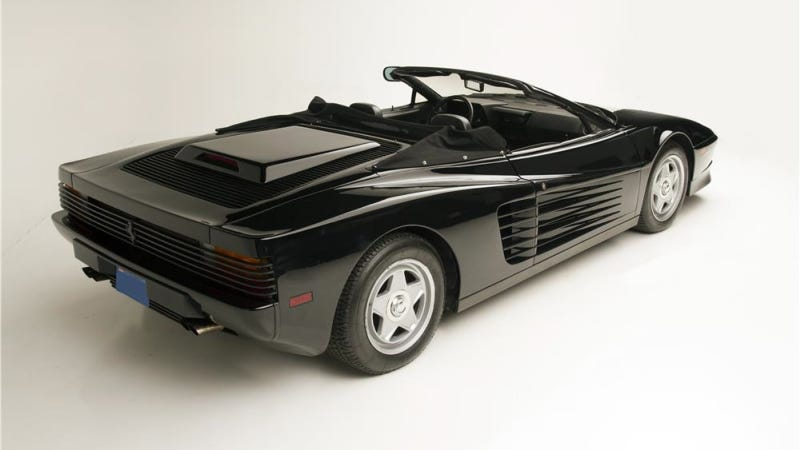 You Can Own A Drop-Top Ferrari Testarossa Driven By Michael Jackson