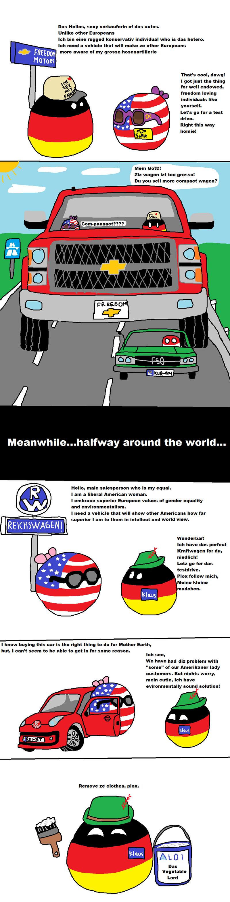 Daily Polandball: Car Related.