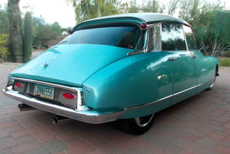 Buy Alice Cooper's Insane RWD V8 Citroën DS So You Can Golf With Him