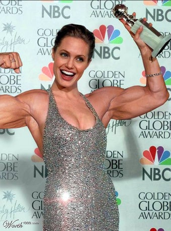 Muscles: Strong Enough For A Man, But Made For A Woman?