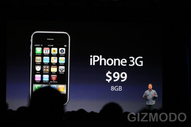 8GB iPhone 3G Will Sell for $99 Alongside 3GS