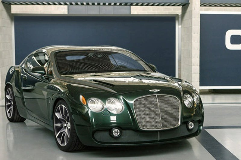 Bentley Zagato GTZ Gets A Premature Unveil Before Geneva
