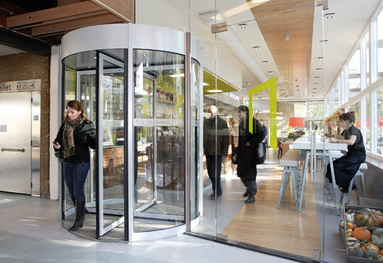 Revolving Door Uses You to Make Energy