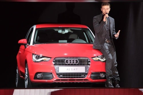 Is Justin Timberlake Really The Only Thing Worth Mentioning About a Motor Show?