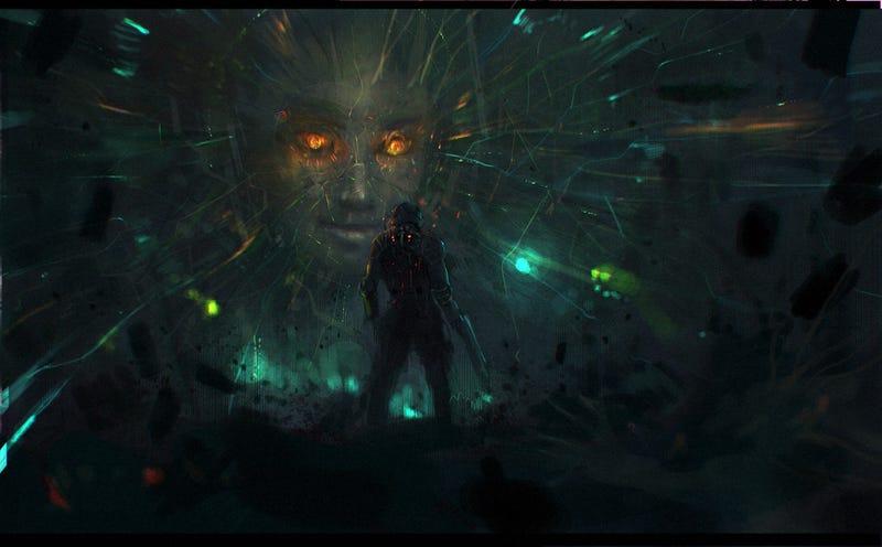 An Artist Is Faithfully Recreating System Shock 2's Greatest Scene