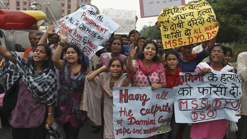 Four Men Given Death Sentences for New Delhi Gang Rape and Murder