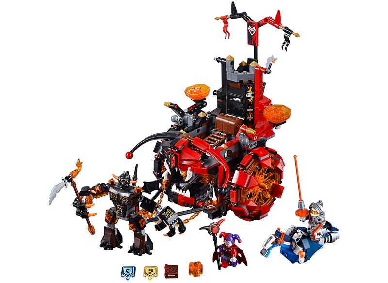 Medieval Times Gets Some Futuristic Upgrades With Lego's New Nexo Knights