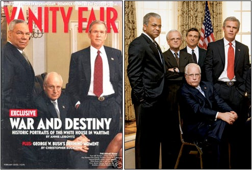 Vanity Fair Recreates Terrifying Bush Administration Portrait