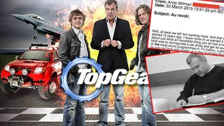 Top Gear's Head Producer Says Farewell To BBC In Leaked Email [UPDATE]
