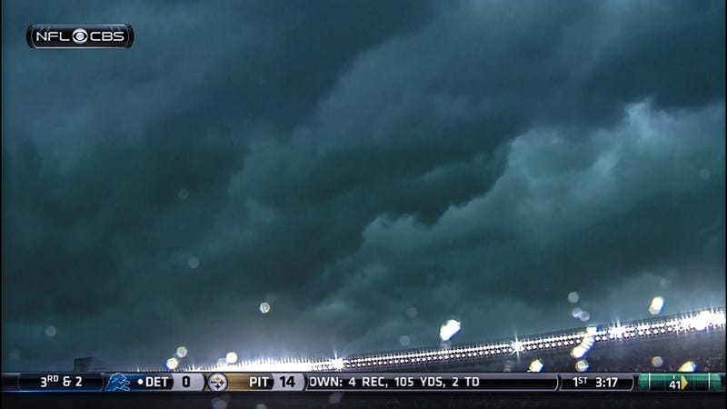 Awful Weather Suspends Ravens-Bears Game