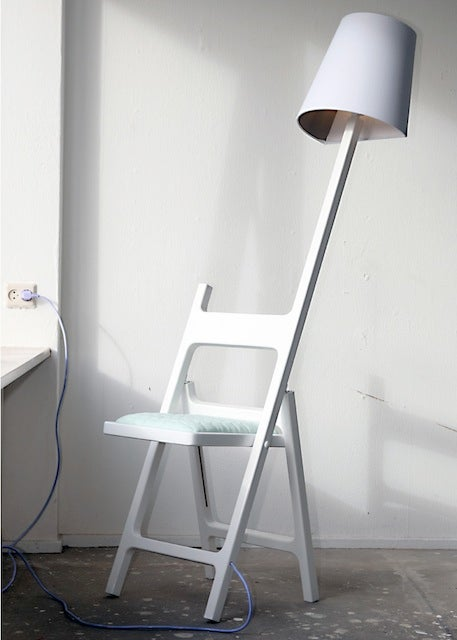 To Hell with Lamps, This Chair Lights Itself