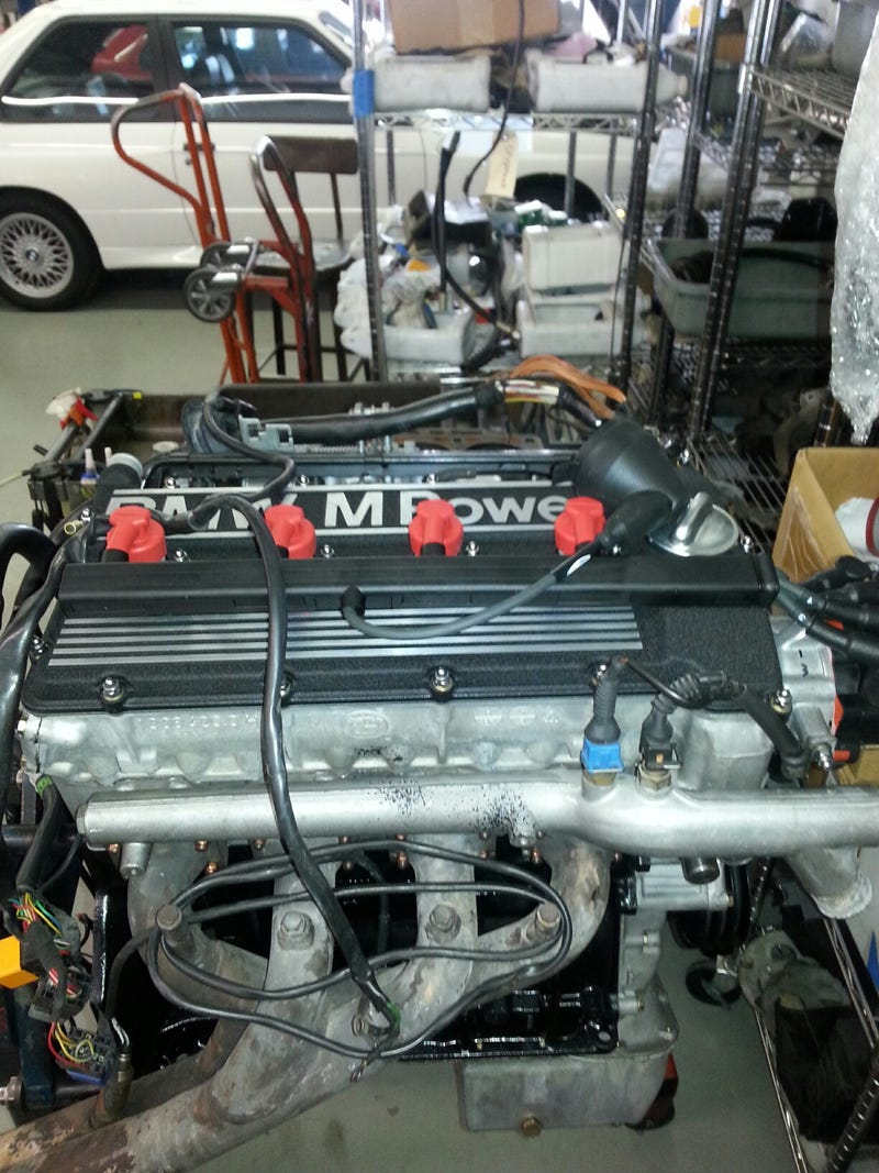 S14 Motor Update - Engine is together and on the bench dyno