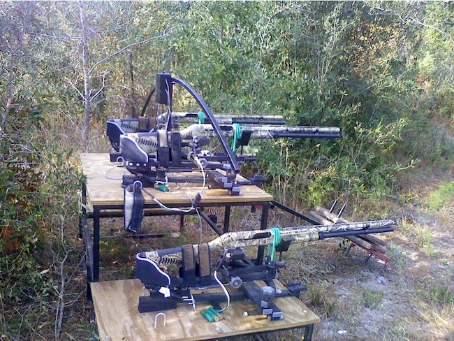 Webcam-Controlled Guns Discovered In Georgia Woods
