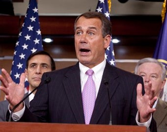 John Boehner Wants Moratorium on All New Regulations For a Year