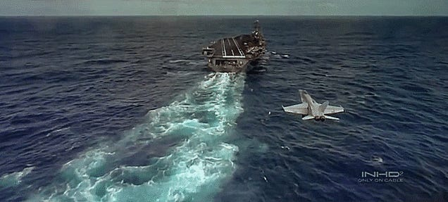 This Is The Most Stunning Carrier Ops Footage Since Top Gun