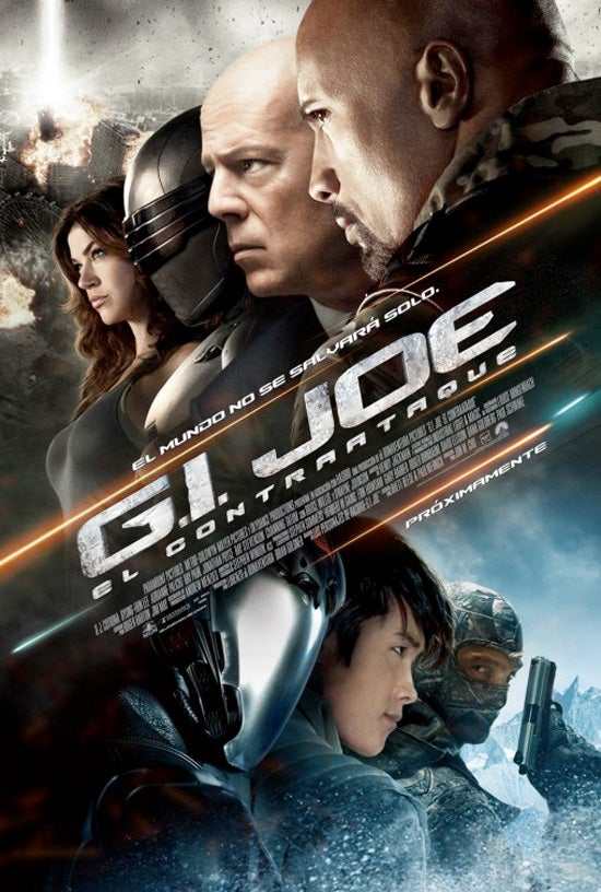 G.I. Joe: Retaliation International Posters