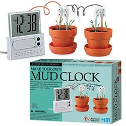 Eco-Friendly Mud Clock is Powered By ... Mud