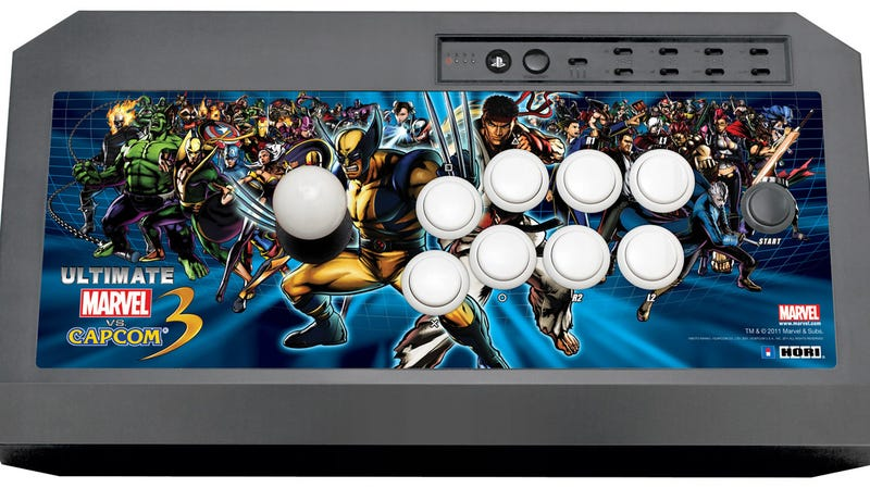 Here's a New Ultimate Marvel vs. Capcom 3 Fight Stick to Kick Galactus' Ass With