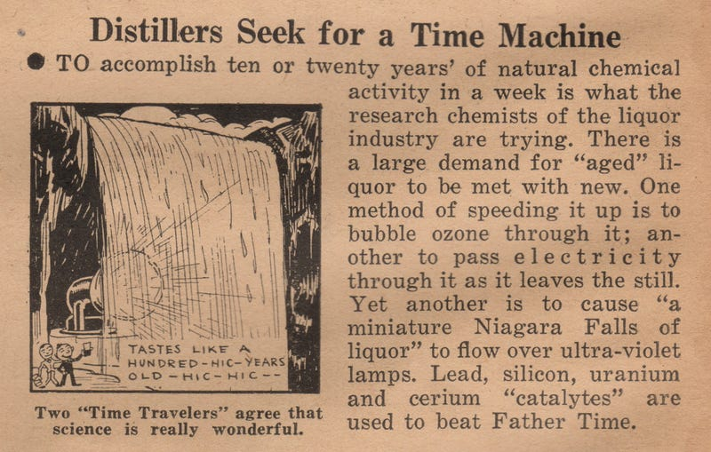 Time Traveling Scientists Were Going to Save Liquor After Prohibition