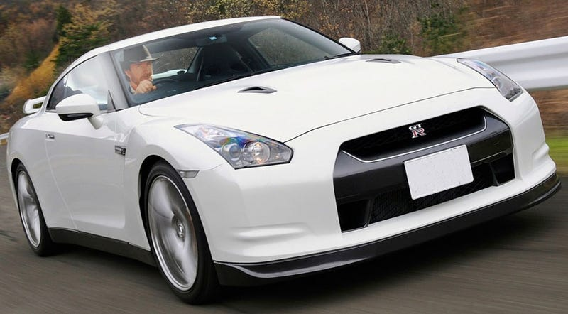 Why Chuck Norris Drives A Nissan GT-R