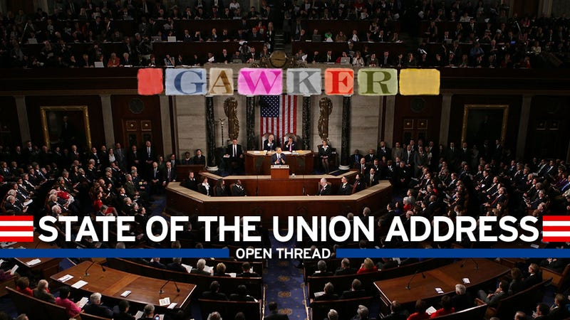 Your 2013 State of the Union Open Thread: Killer Cop Edition