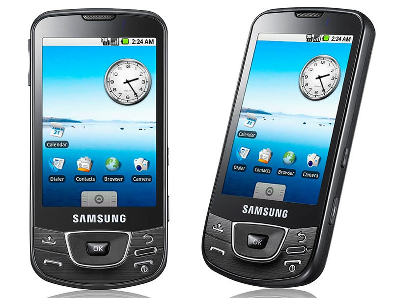 Meet the I7500, Samsung's First Android Phone