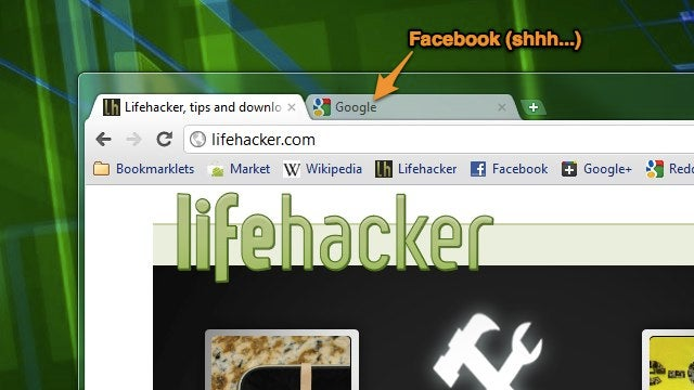 Disguised Tabs Hides Chrome Tabs with One Keystroke