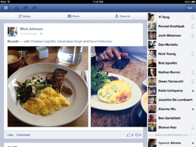 Facebook's Updated iOS App Is Fully Native and Free of HTML5