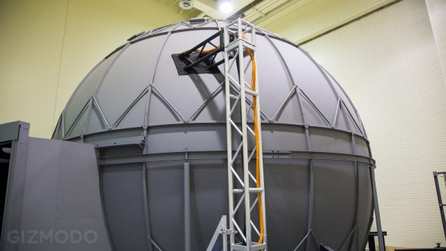 "Inside ""The Domes,"" Where NASA Drives the Spacecraft of the Future"