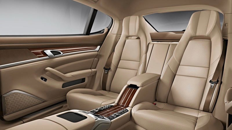 You Can Actually Spend $24,000 On Leather Alone In The 2014 Porsche Panamera