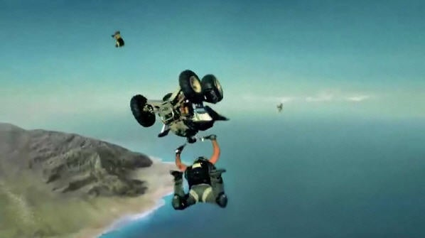 Jumping Out of a Plane on an ATV Makes Skydiving, ATVs More Exciting