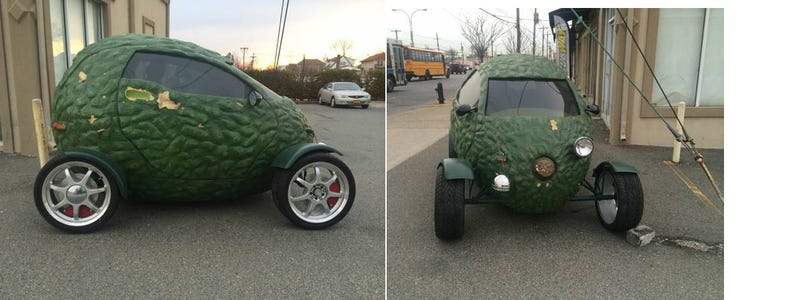 This Mysterious $500 Subway 'Avocado Car' Is My Next Lemons Racer