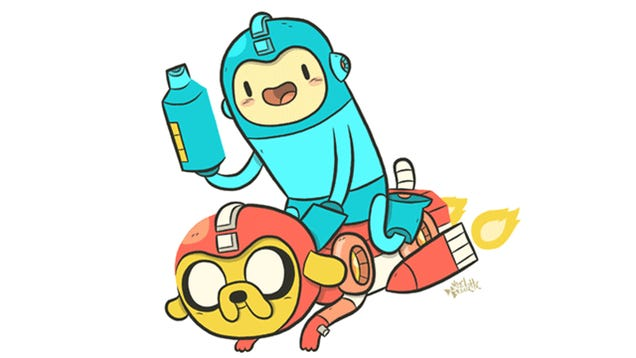 Mega Man Meets Adventure Time, And I Think My Heart Just Burst