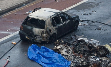 Helicopter Crash in Central London Kills Two (Updating)