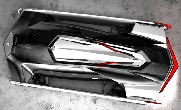 If Darth Vader had a car, it would be this killer Cadillac concept