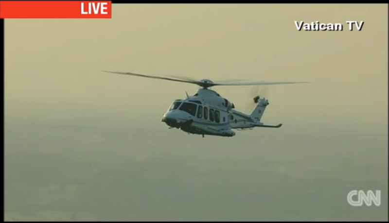 The Pope Just Peaced Out Of The Vatican In This Awesome Helicopter