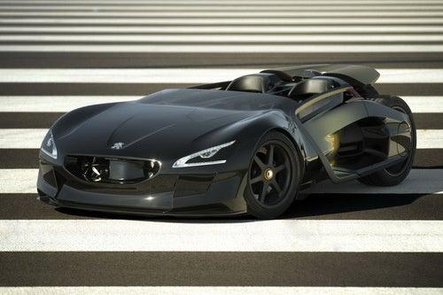 Peugeot EX1 Images