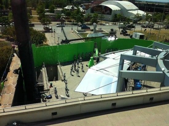 Total Recall Set Pictures