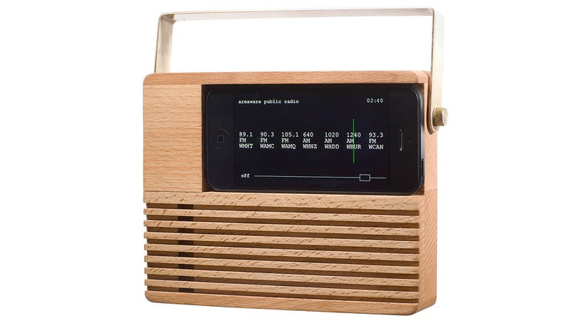 A Retro Dock For the Public Radio Lover's Smartphone