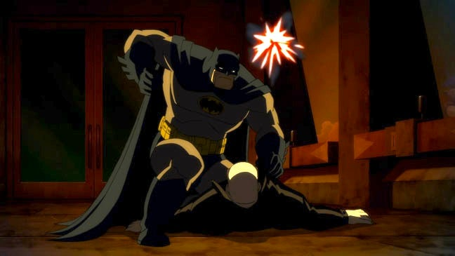 Watch the first trailer for the animated adaptation of The Dark Knight Returns