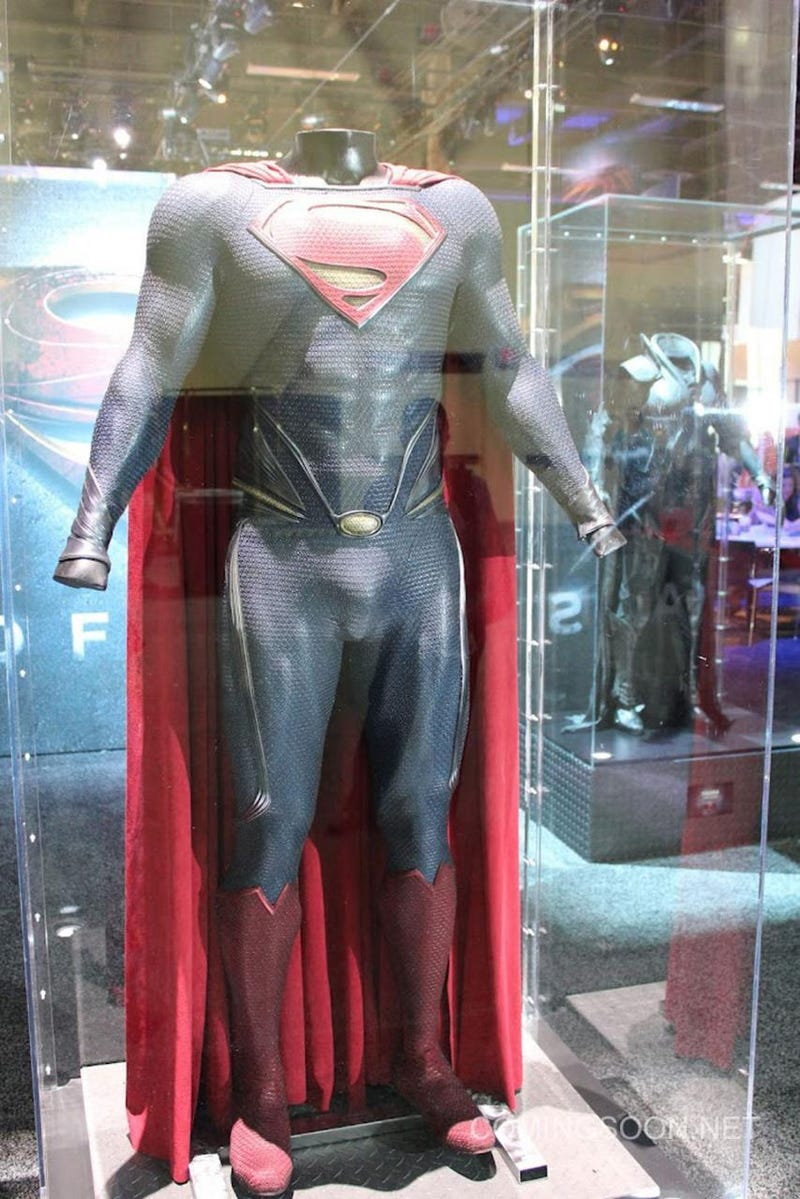 A Close Look at the Kryptonian Suits from Man of Steel