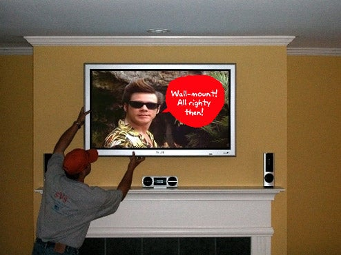 Question of the Day: Is Your Flat Panel TV Wall-Mounted Or On a Stand?