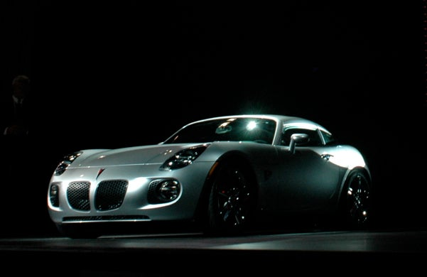 2009 Pontiac Solstice GXP Coupe Revealed Live In New York