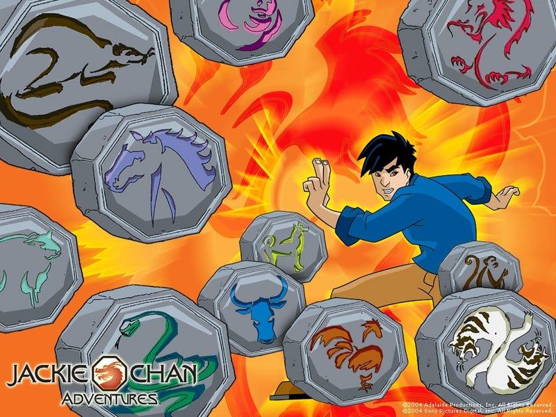 Saturday (err Thursday) Morning Cartoons - Jackie Chan Adventures