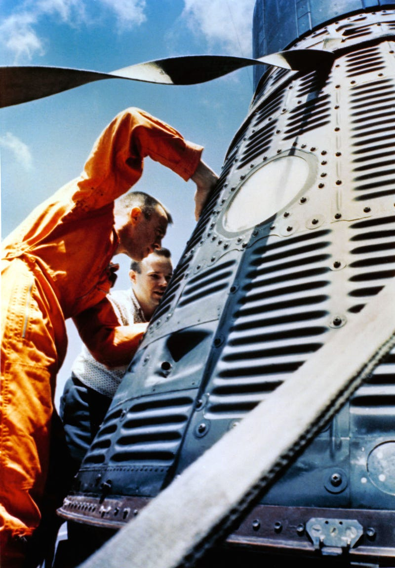 Behind the Scenes of the First Crewed American Spaceflight